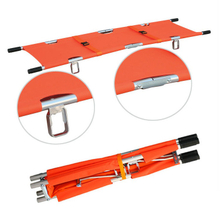 HS-B020 medical low price 2 fold stretcher