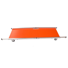 HS-B002 First aid folding stretcher with wheels