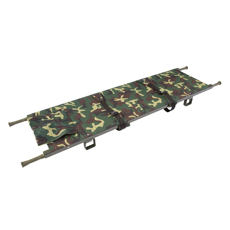 HS-B010 Military supply camouflage folding stretcher